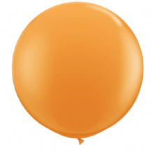 3ft Giant Balloons - Orange Latex Balloon 1pc